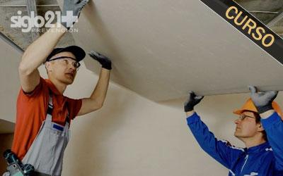 Montador de escayola, placas de yeso laminado y asimilados 20 h.
