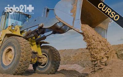 Operadores de vehículos y maquinaria de movimiento de tierras 20 h.