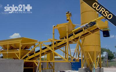 Operario de instalaciones temporales de obra y auxiliares: plantas de aglomerado, de hormigón, de machaqueo y clasificación de áridos 20 h.