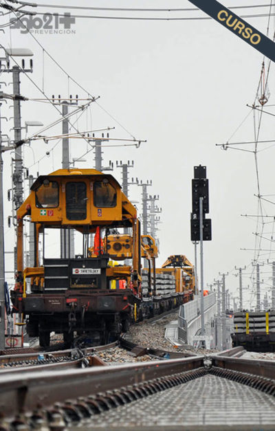 Curso de construcción y mantenimiento de vías férreas 6 horas