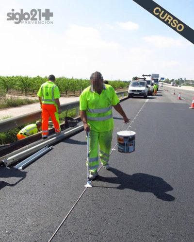 Curso de trabajos de conservación y explotación de carreteras